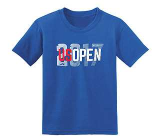 US Open 2017 Block Letter Youth Tee